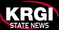 KRGI-AM Logo with the words State News below.